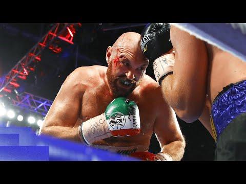 Тайсон Фьюри - Отто Валлин (полный бой) #бокс
