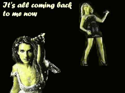 Celine dion-its all coming back to me now :karaoke,instrumental