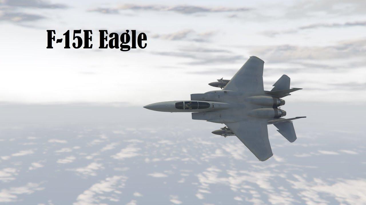 GTA 5 F-15E Eagle Mod (USAF: Air Attack Pack) [Add-on] 1080p60