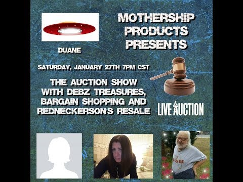 "MSP The Auction Show w/Carol ""bargainshopping"" Nathan Findley Debby ""Debz Treasures"""