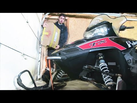 IT'S ALIVE !! REPAIRING MY BURNT SNOWMOBILE | FIRST RIDE