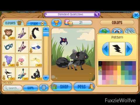 Animal Jam~'Secret' Patterns (For an Arctic Fox)