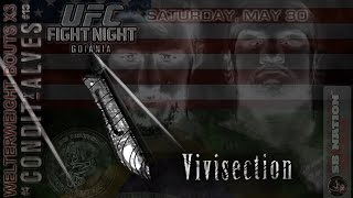UFC Fight Night Condit vs Alves MMA Vivisection previews, predictions, odds