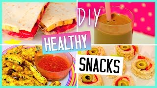 DIY Healthy Snacks! Yummy Treats! Sweet & Savoury