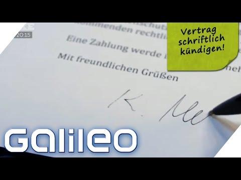 So kündigt ihr richtig | Galileo | ProSieben