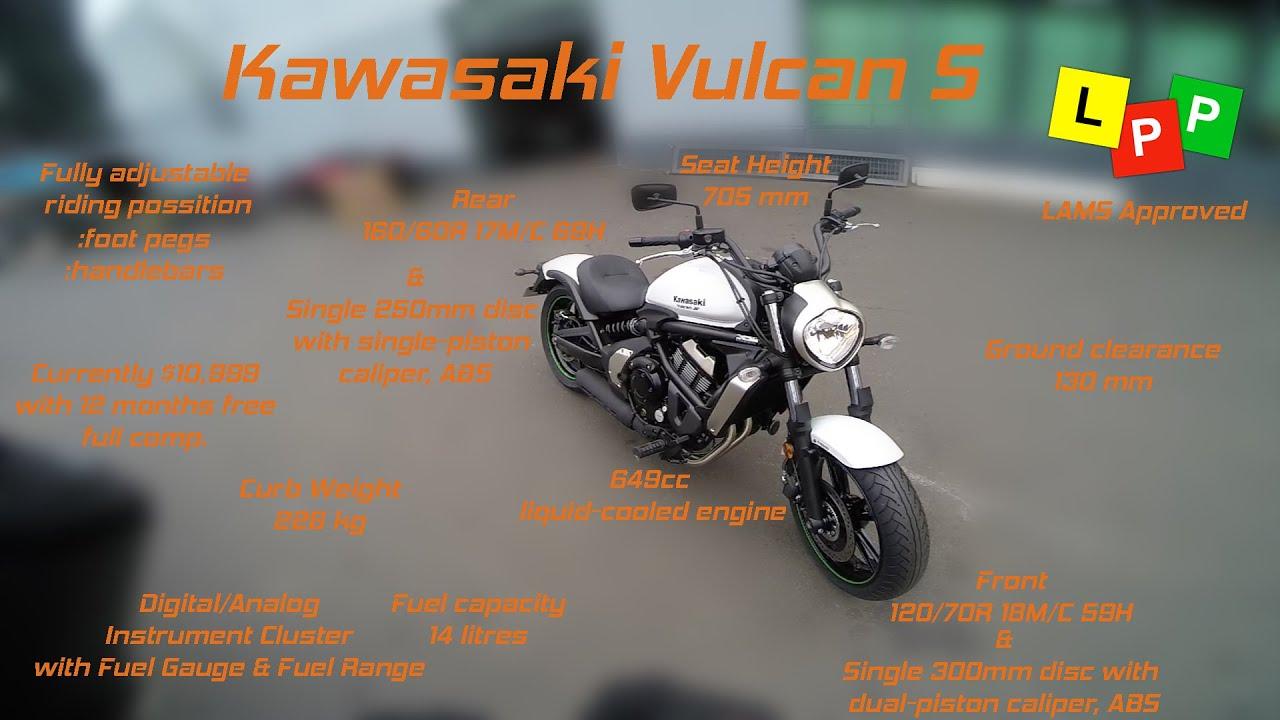Kawasaki vulcan lams
