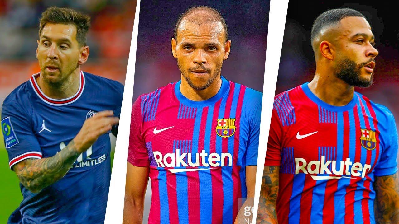 FC BARCELONA CHAMPIONS LEAGUE WINNING LINEUP FOR 2021/2022