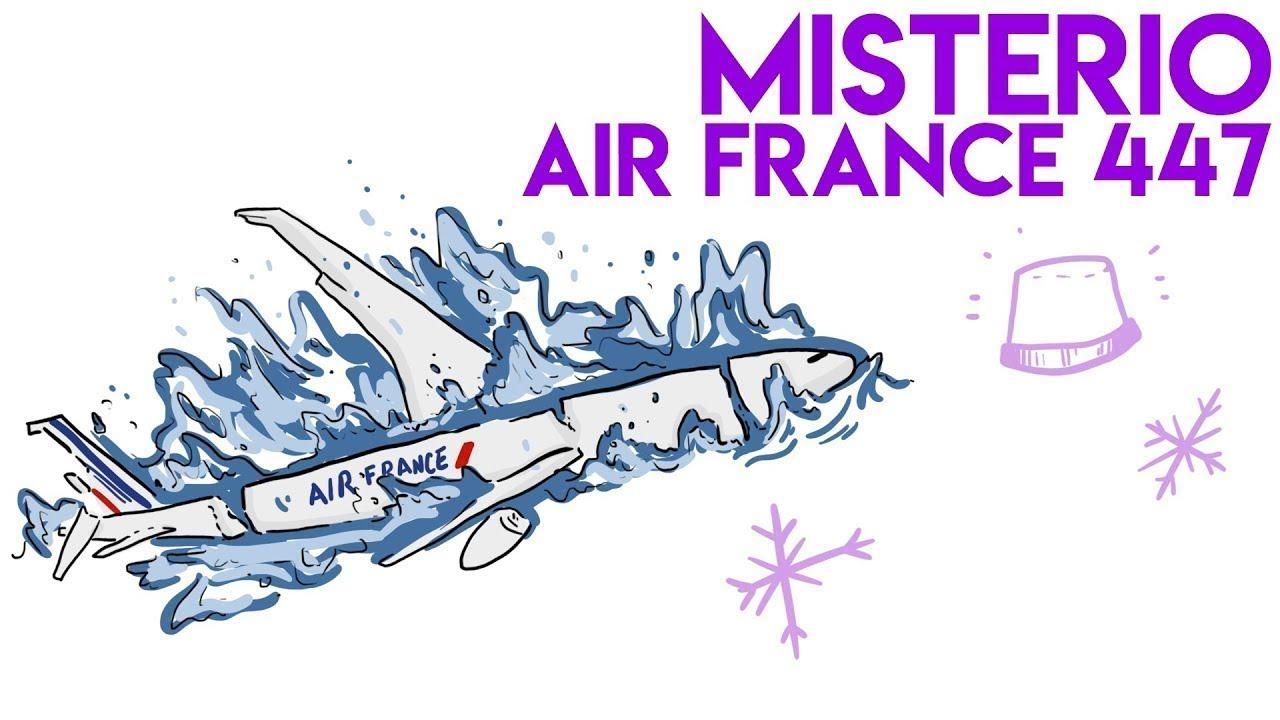 ¿Qué PASÓ con el VUELO 447 de AIR FRANCE?