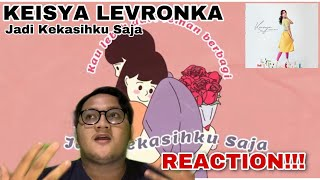 REACTION Keisya Levronka - Jadi Kekasihku Saja (Lyric Vidio) LV REACTION