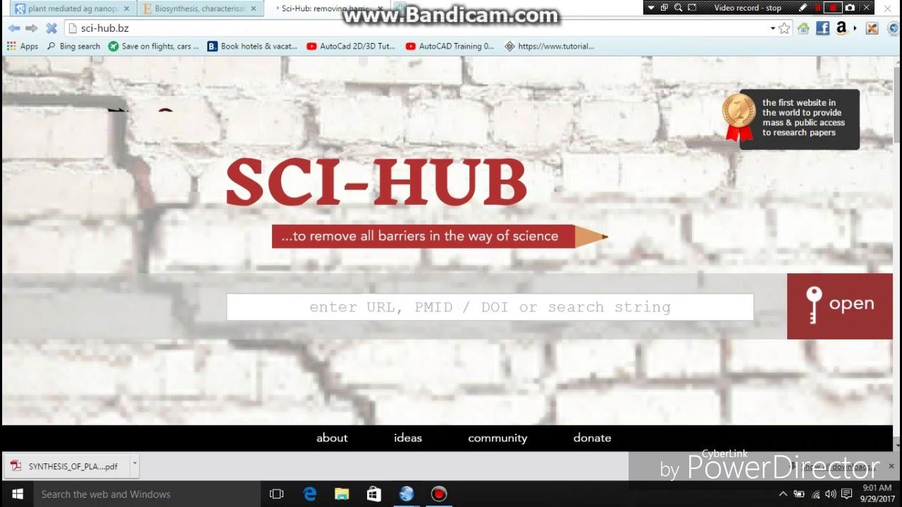 whereis sci hub