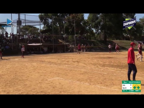 2018 Gilley's Shield - Preliminary Final - Queensland Heat vs SA Starz