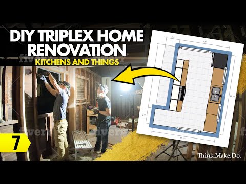 DIY Triplex Home Renovation – 07 –  Kitchens and Things