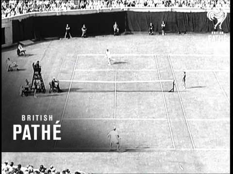 Hoad's First Professional Match (1957)