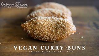 揚げたてサクサクを自宅で! 野菜たっぷりカレーパンの作り方:How to make Curry Buns   Veggie Dishes by Peaceful Cuisine thumbnail