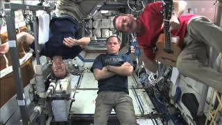 Peter Gabriel Talks With Space Station Crew