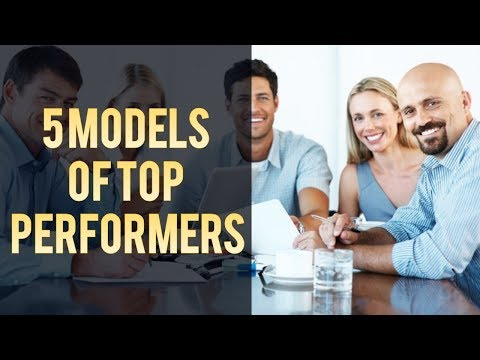 Learn the 5 top Models of World's best achievers to become achiever and finisher.