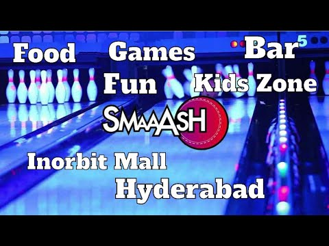 Smaaash Inorbit Mall Hyderabad | Best Place For Couples In Hyderabad To Hangout