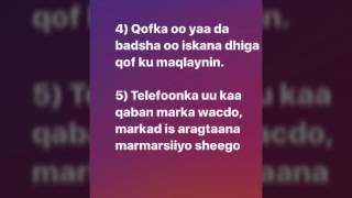 Sideed Lagu Ogaado Qofka Beenta Ku Sheegaya