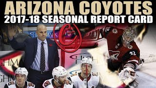 Arizona Coyotes Seasonal Report Card (2017-18)