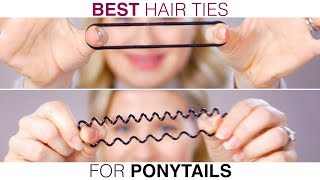 BEST Hair Ties EVER?!!! There are so many hair ties on the market and how do we choose? I have quite the collection of hair accessories and for some reason ...