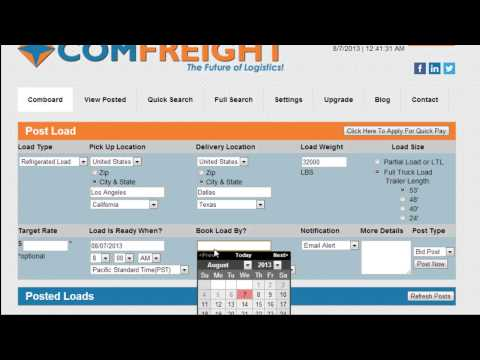 How to Get Freight Bids
