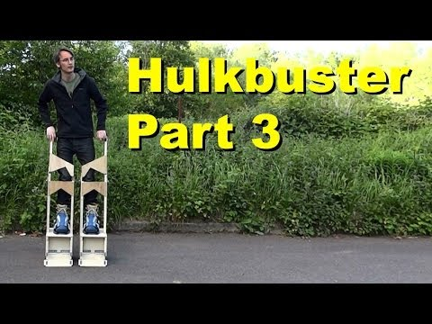 Iron Man Hulkbuster Cosplay #3 - More Stilts - James Bruton - 동영상