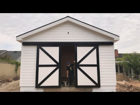 8 Row Variations to construct a Barn Door Back