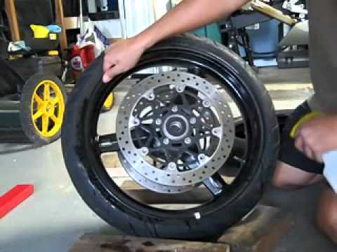 Change a Motorcycle Tire - How to Change a Motorcycle Tire