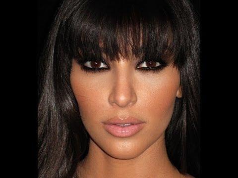 Kim Kardashian Smoky Eye Makeup Tutorial | SuperPrincessjo ...