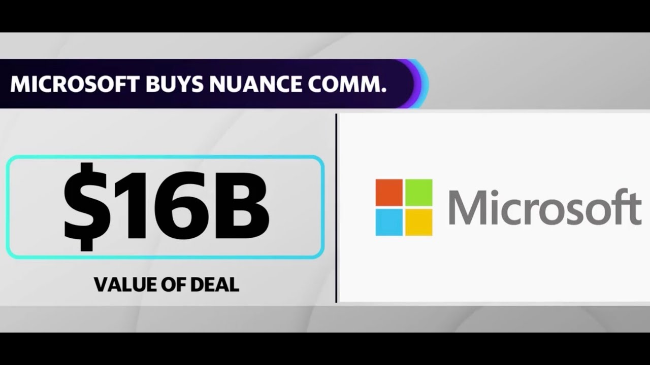Microsoft buys Nuance Communications for  Billion