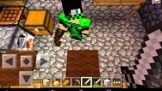 Minecraft PE 0.10.5 выживание в деревне #3