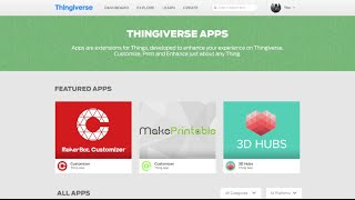 Thingiverse API Platform & Developer Program