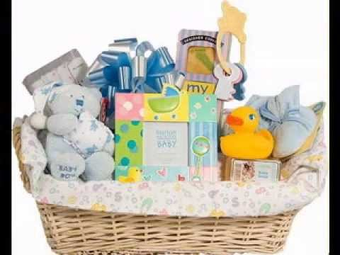 Diy Gift Basket Decorating Ideas For Baby Shower Youtube