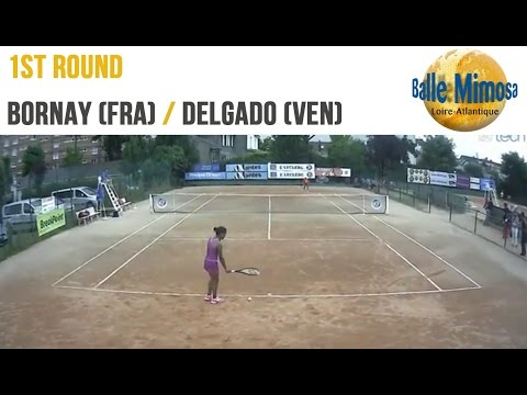 BORNAY (FRA) vs DELGADO (VEN) Round 1 -  Court 12