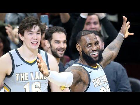 Cavs win on LeBron James' buzzer beater vs. Timberwolves