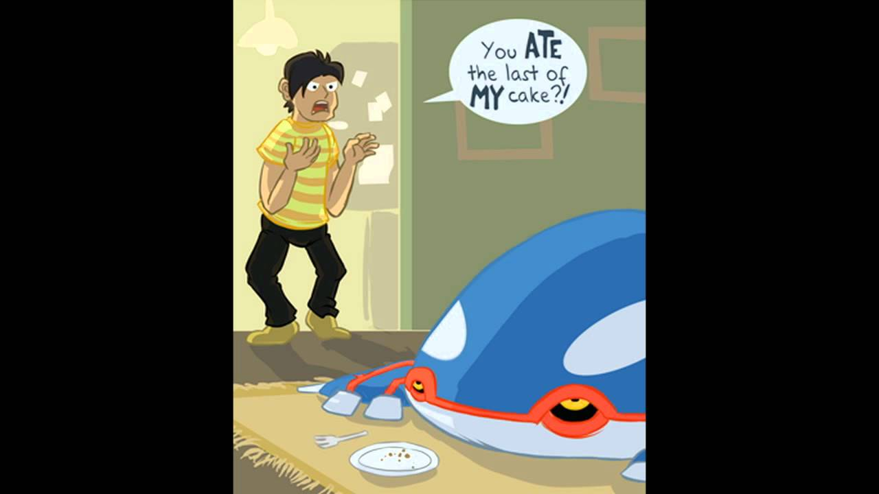 Kyogre The Worst Roommate Youtube