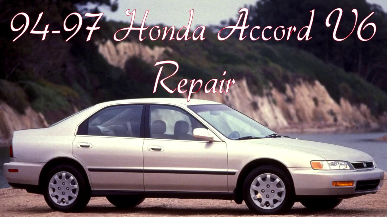 1997 honda accord 97 v6