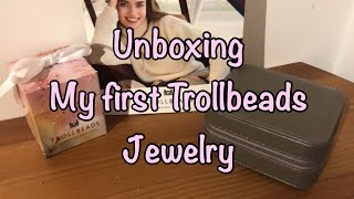 Unboxing my First Trollbeads Jewelry