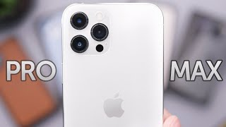 Silver iPhone 12 Pro Max Unboxing, First Impressions, & Cases!