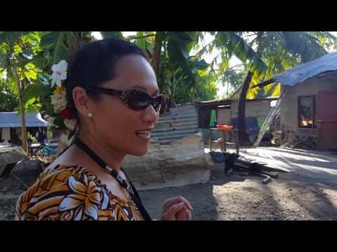 Raw footage: Betio Village, Kiribati