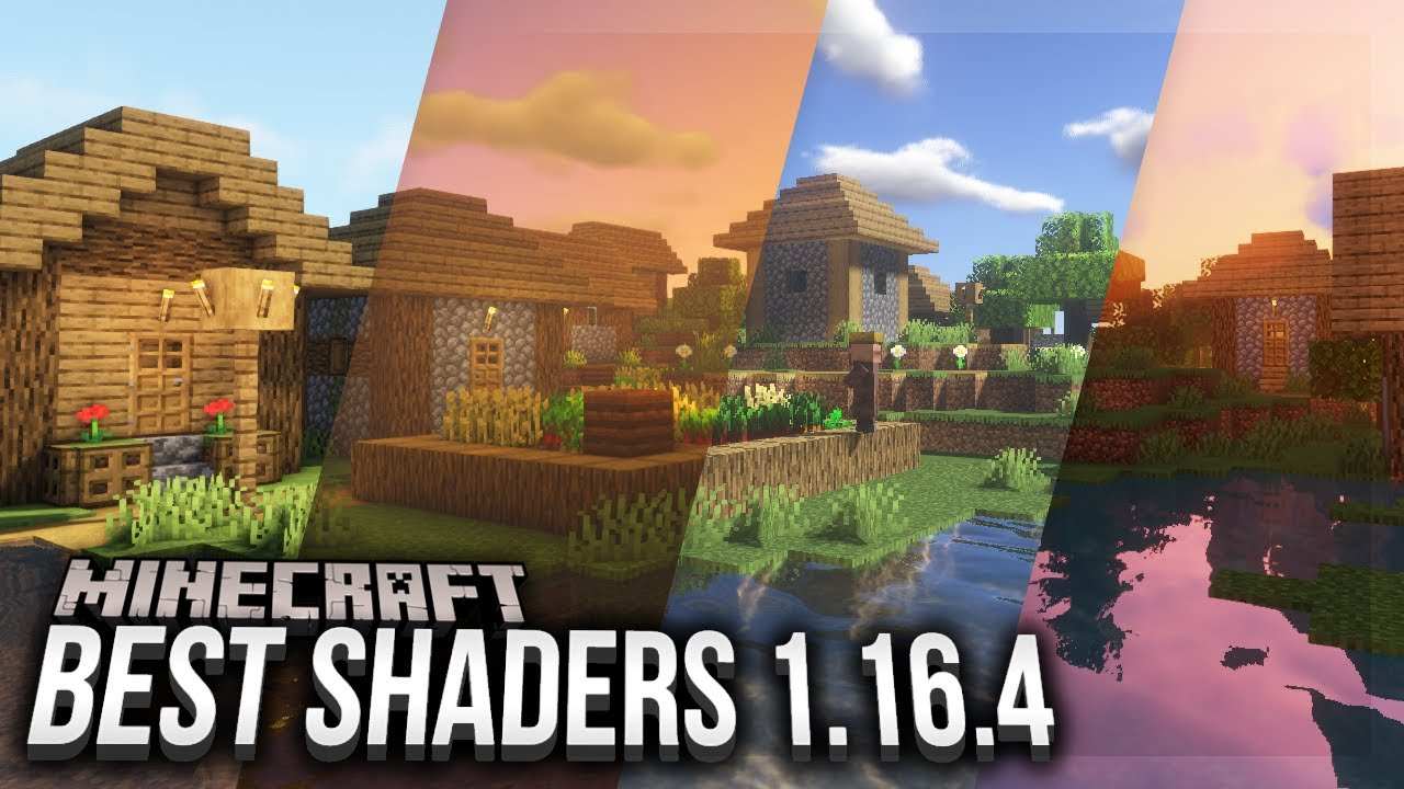 TOP 5 Shaders for Minecraft 1.16.4 - YouTube