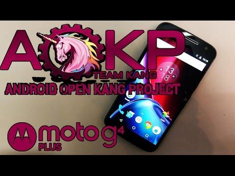 Moto G4/G4 Plus: AOKP ROM 6.0.1 + SOLUCION a pantalla quemada de FORMA NATIVA (Sin Aplicaciones)