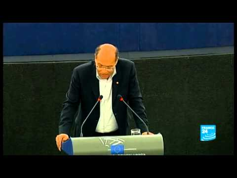 Intervention du président tunisien, Moncef Marzouki