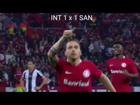 Inter 2 x 1 Santos - Narração Rádio Gaúcha - 08/09/2016