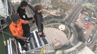 видео Башня Макао, башня макао прыжок