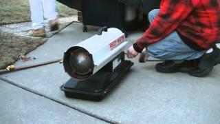 First Kerosene Heater Test in 10 Years