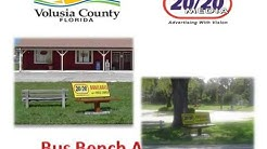 2020 Media Presents Volusia County Shelter Bench Advertising 2015