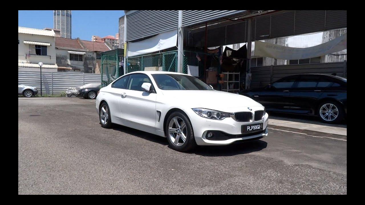 BMW 428I Coupe >> 2014 BMW 420i Coupe Start-Up and Full Vehicle Tour - YouTube