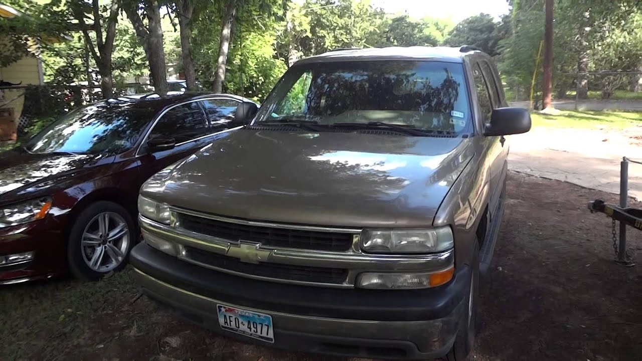 2003 chevrolet tahoe ls review youtube 2003 chevrolet tahoe ls review