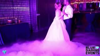 Dancing On A Cloud Effect | BEST First Dance Video | Blue Diamond Events